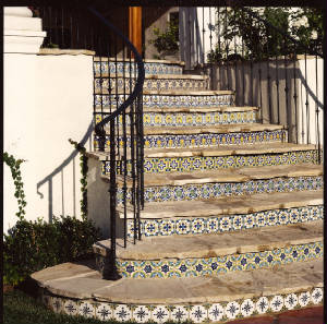 Spanish Stair Tiles