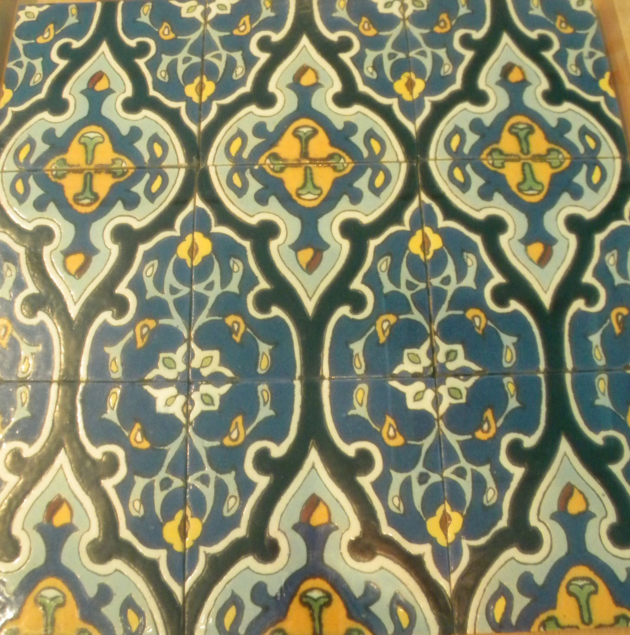 Persian Patterns: Orientalism -Tile Reproductions